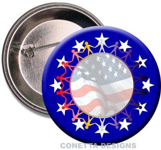USA Awareness Buttons