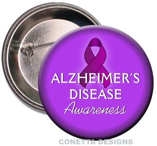 Alzheimer's Awareness Buttons