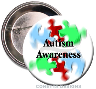 Autism Awareness Buttons