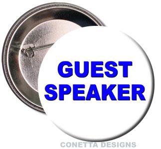 Guest Speaker Buttons