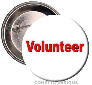 Volunteer Buttons