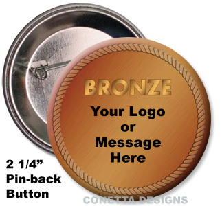 Bronze Medal Button