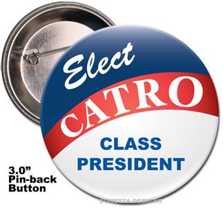 Election Button Design #01 (Large)