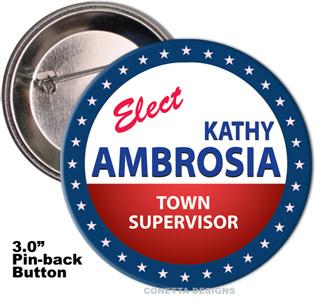 Election Button Design #04 (Large)