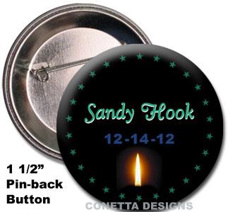 Sandy Hook Awareness Pins