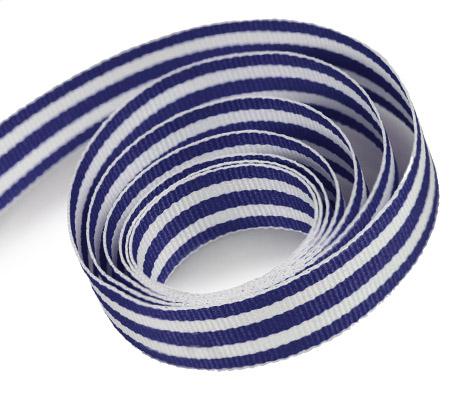 Blue - White - Grosgrain (50yd)