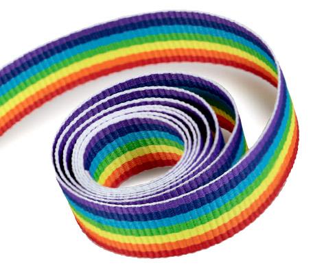 Rainbow - Grosgrain (100yd)