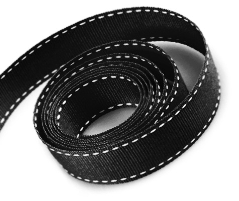 Black-White Stitch (50yd)