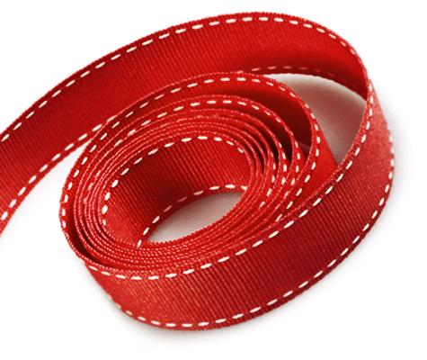 Red-White Stitch (50yd)