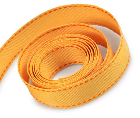 Yellow Gold-Torrid Orange Stitch (50yd)