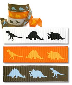 Dinosaurs - Grosgrain (25yd)